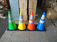 We Have Been Exporting New Color Traffic ConeS To Customer