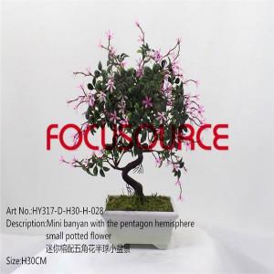Artificial Mali Bonsai Tree-HY317-D-H30-H-028
