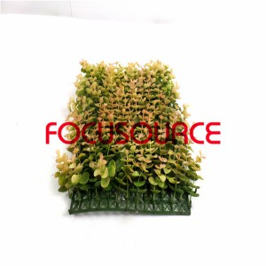 Artificial Grass Turf -HY136 30X20CM GN004(with white and pink)