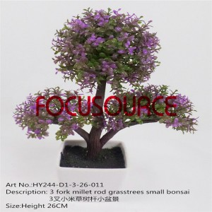 Artificial Small Bonsai Tree-HY244-D1-3-26-011