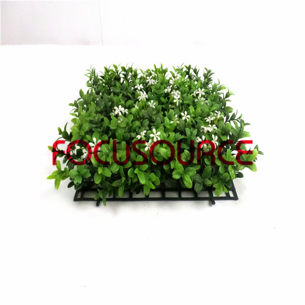 Artificial Grass Turf -HY128 7 layer melon seed grass carpet with flower Featured Image