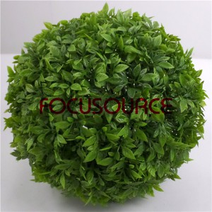 Artificial Boxwood Grass Ball-HY154-GN001