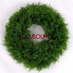 Artificial Boxwood Wreath  -HY118-35cm