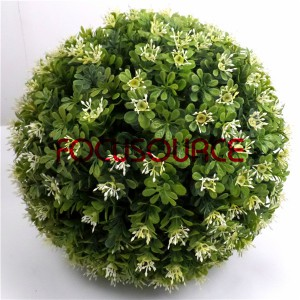 Artificial Boxwood Grass Ball-HY149-GN001