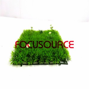 Artificial Grass Turf-HY0947S-4 feet mixed flower 25X25CM