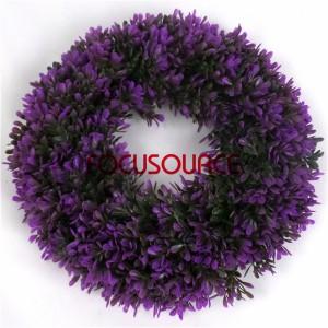 Artificial Grass Wreaths-HY181-32cm