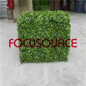 Artificial Boxwood Topiary Tower -HY08103-J5-H30.5-031