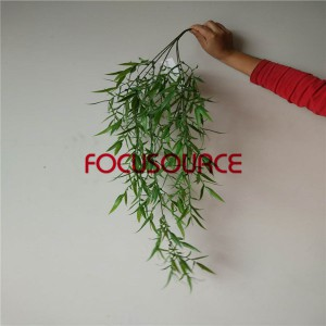 Artificial Hanging Leaf For Wall Decor-HY235-L5-85CM-014