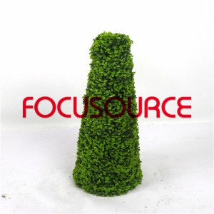 Artificial Boxwood Topiary Tower -HY08102-J2-H60-014