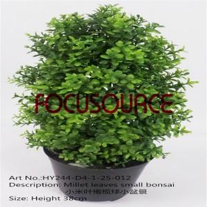 Artificial Small Bonsai Tree-HY244-D4-1-25-012