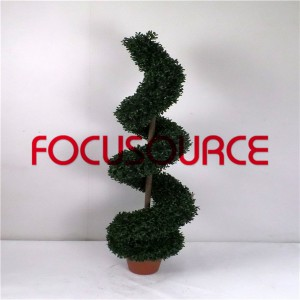 Artificial Spiral Boxwood Tree-HY216-J3-H120-015