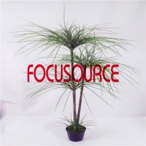 Artificial  Small Tree Bonsai -HY147-F-H125-T3-F-044
