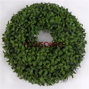 Wall Hanging Artificial Grass Weath-HY129-4-33cm