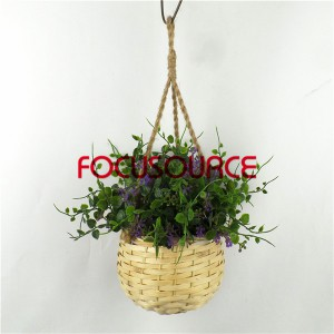 Artificial Hanging Basket Plant-HY228-H-18-H-038 PU3