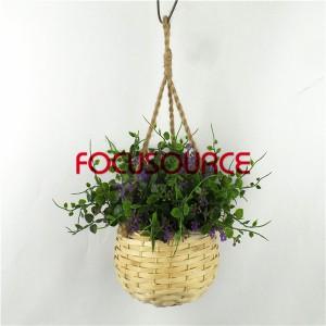 Artificial Hanging Basket Plant-HY228-H-18-H-038  PU3