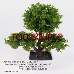 Artificial Small Bonsai Tree-HY242-D1-3-26-017
