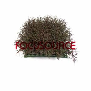 Artificial Grass Carpet -HY204 25X25CM  RD003 Coffee