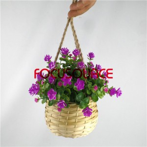 Artificial Hanging Basket Plant-HY136-H-19-HG-040 RD1