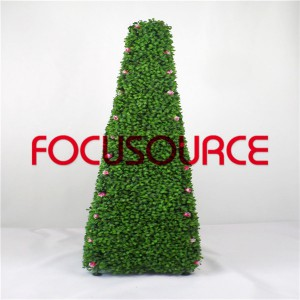 Artificial Topiary Grass Tower-HY245-J1-H117-023