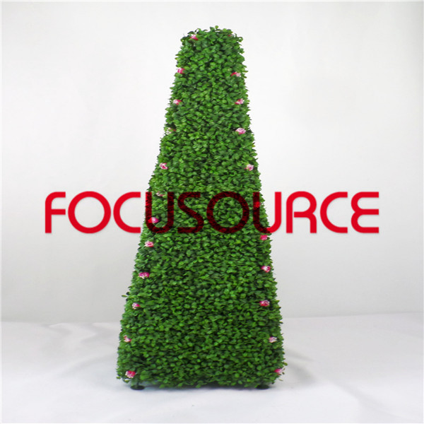 Artificial Topiary Grass Tower-HY245-J1-H117-023 Featured Image
