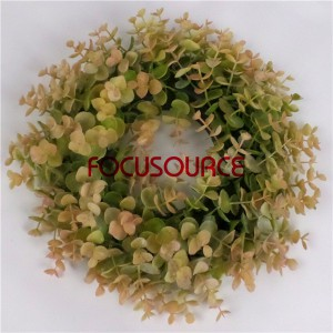 Wall Hanging Artificial Grass Weath-HY136-30cm