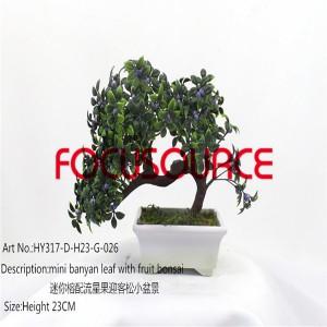 Artificial Mali Bonsai Tree-HY317-D-H23-G-026