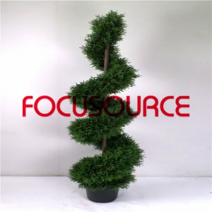 Artificial  Spiral Boxwood Tree-HY218-J3-H150-017