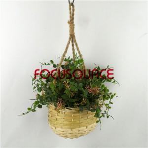 Artificial Hanging Basket Plant-HY228-H-18-H-038  GPR4