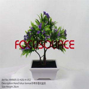 Simulation Flower Small Potted Plants-HHN05-D-H26-H-052