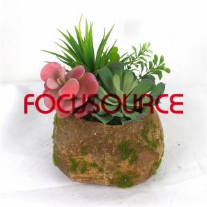 Artificial Succulent Plants Bonsai-SM007KM-O-014