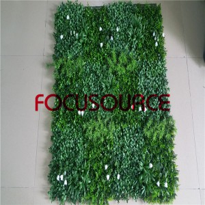 Artificial Grass Turf-mixed grass carpet model4