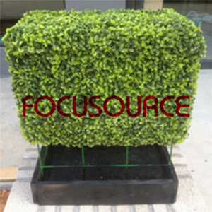 Artificial Boxwood Topiary Tower -HY08102-J5-H48-016