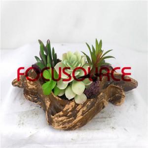 ਨਕਲੀ succulent ਪੌਦੇ ਬੋਨਸਾਈ-SM026K-O-051