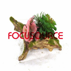 ਨਕਲੀ succulent ਪੌਦੇ ਬੋਨਸਾਈ-SM024KM-O-048
