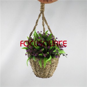 Artificial Hanging Basket Plant-HY192 + HY205-H-18-037 PR2