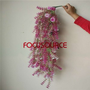 Artificial LED Hanging Leaf For Wall Decor-HY229-L5-H112-018