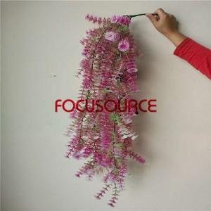 Atifisyèl dirije Pandye Leaf Pou mi Decor-HY229-L5-H112-018