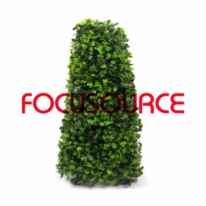 Artificial Boxwood Topiary Tower -HY08103-J1-H40-002