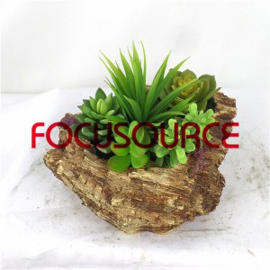 Artificial Succulent Biljke Bonsai-SM018K-O-035