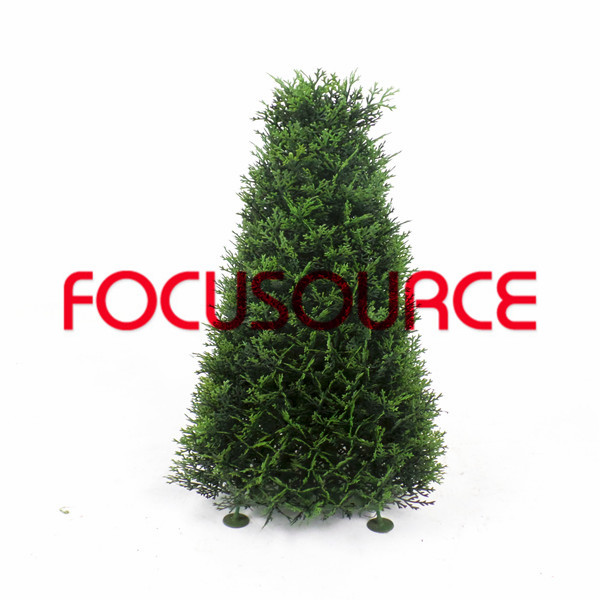 Artificial  Boxwood Grass Tower-HY218-J1-H60-019 Featured Image