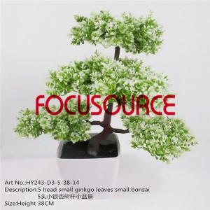 Artificial Small Bonsai Tree-HY243-D3-5-38-014