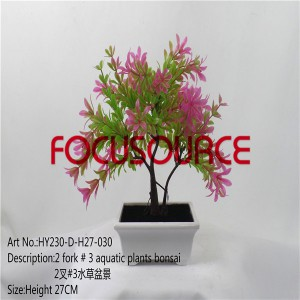 Artificial Bonsai Small Tree-HY230-D-H27-030