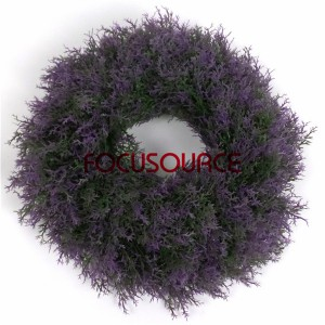 Artificial Boxwood Wreath  -HY118-29cm