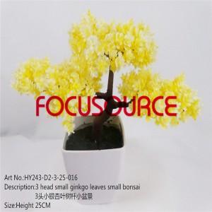 Artificial Small Bonsai Tree-HY243-D2-3-25-016