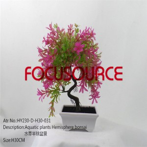 Artificial Small Bonsai Tree-HY230-D-H27-031