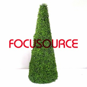 Artificial Boxwood Topiary Tower -HY08103-J2-H145-010