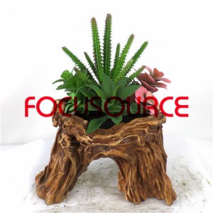 Artificial Succulent Biljke Bonsai-SM020K-O-039