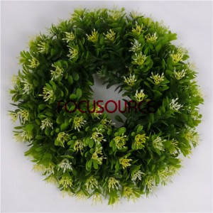 Wall Hanging Artificial Grass Weath-HY149-30