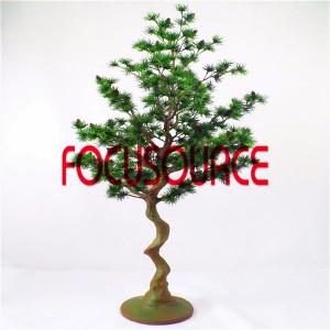 Artificial  Small Tree Bonsai -HY290-F-H130-084