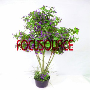 Artificial  Small Tree Bonsai -HY295-F-H100-088
